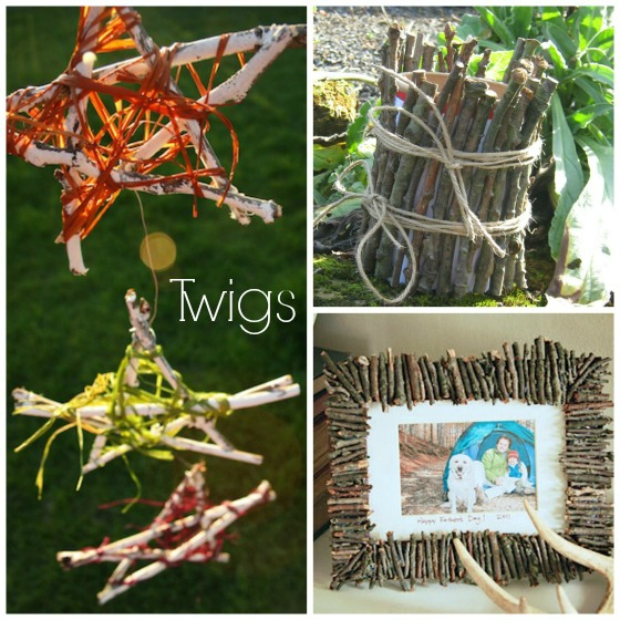 Twig Crafts Kids Can Make And Give