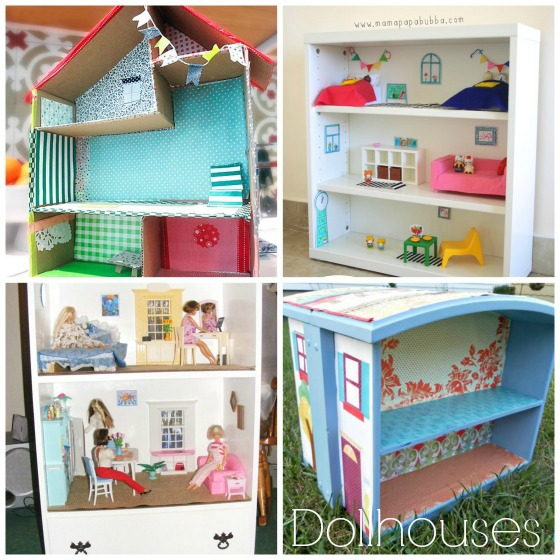 easy dollhouses to make for kids