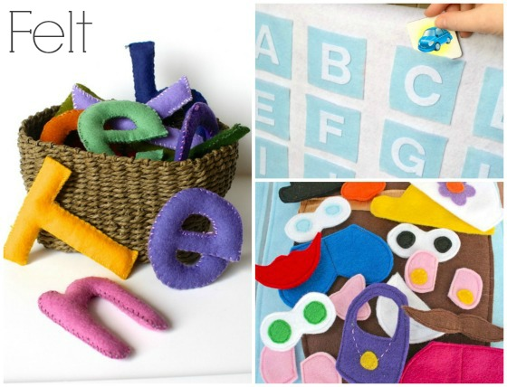 homemade felt toys to make for toddlers