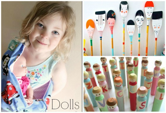 homemade dolls toys to make for kids