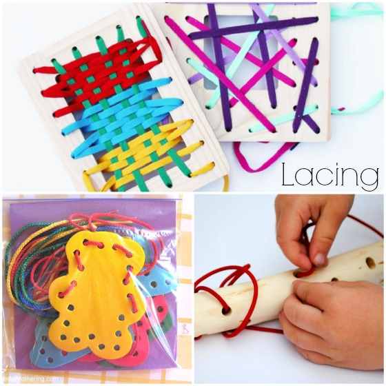 homemade lacing activities to make for kidsjpg