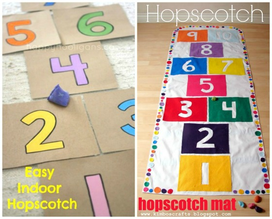 hopscotch toys to make for kids