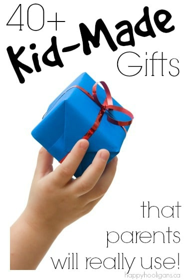 Kid-made gifts that parents will really love