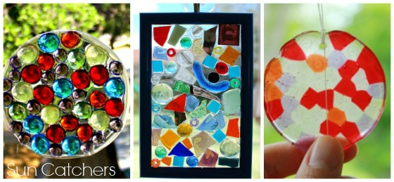 sun catchers kids can make and give