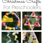 12 Fine Motor Christmas Crafts for Toddlers and Preschoolers