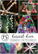 15 Gorgeous, Easy Christmas Ornaments for Kids to Make