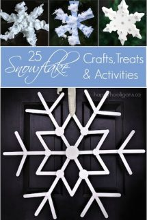 25 Snowflakes to make