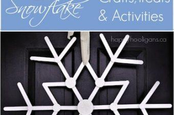 25 Snowflakes to make
