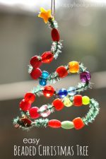 Bead and Pipe Cleaner Ornaments – Easy Christmas Craft for Kids