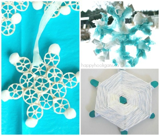 easy snowflake crafts