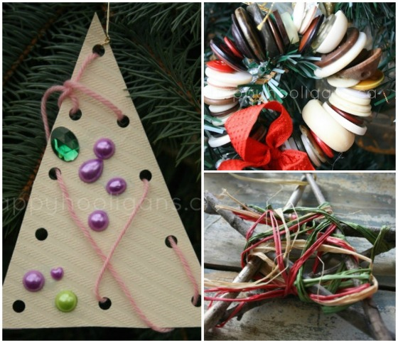 fine motor ornaments for toddlers