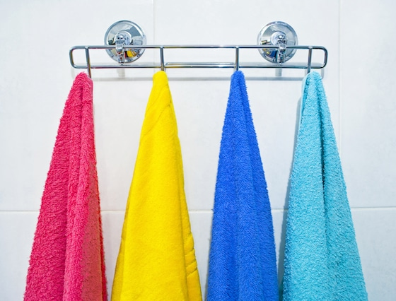 How to get a teenager to hang up a towel