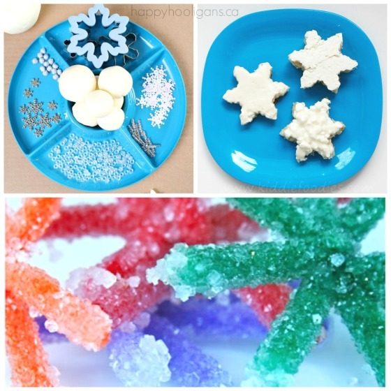 snowflake activities and snacks