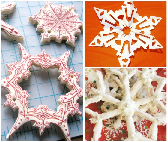 snowflake crafts and treats