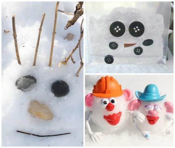 unique snowman activities