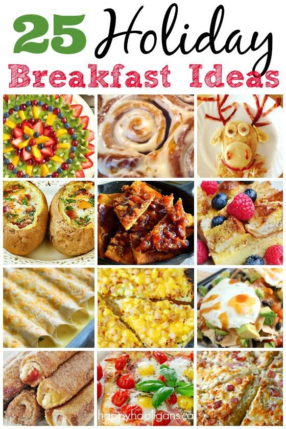 25 Christmas Breakfast Ideas-Happy Hooligans