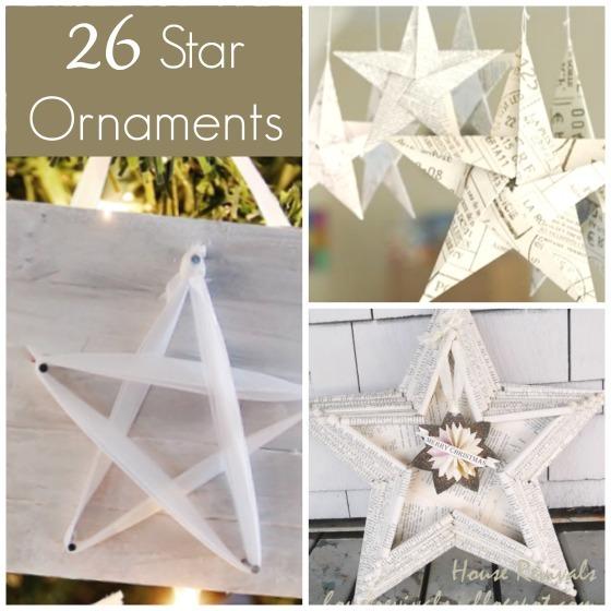 classy star ornaments