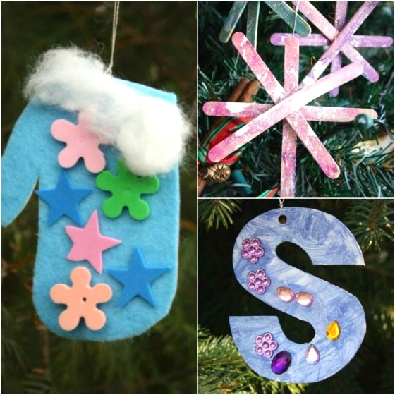3 more easy christmas ornaments for toddlers and preschoolers