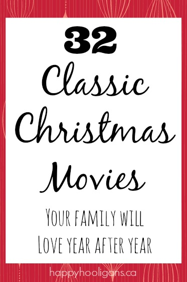 32 Best Christmas Movies to Watch with Your Family this Holiday Season