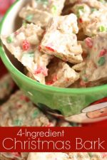 4-Ingredient Christmas Bark Recipe (with Mercken's Disks and Rice Krispies)