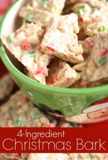 4-ingredient Christmas Bark
