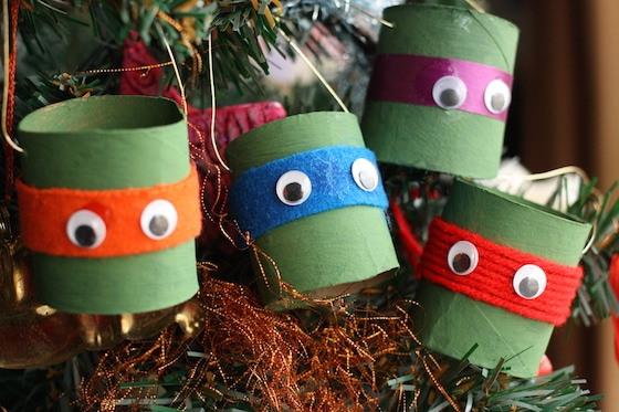 easiest Teenage Mutant Ninja Turtle Ornaments for kids