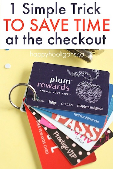 Simple Trick to Organize Gift Cards and Rewards Cards in Your Wallet