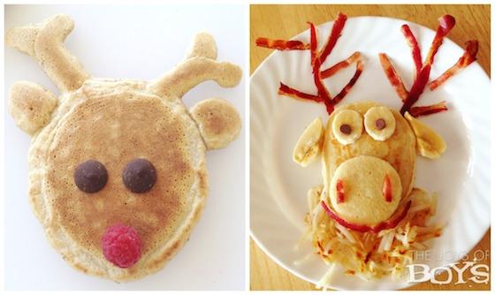 Reindeer pancake - Olaf pancake