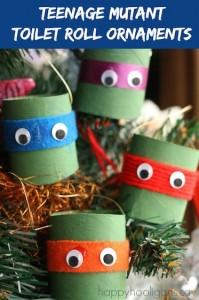 Teenage Mutant Ninja Turtle Ornaments  copy