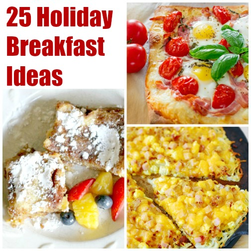 overnight french toast - breakfast pizzas