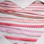 Ribbon Heart Valentines Cards