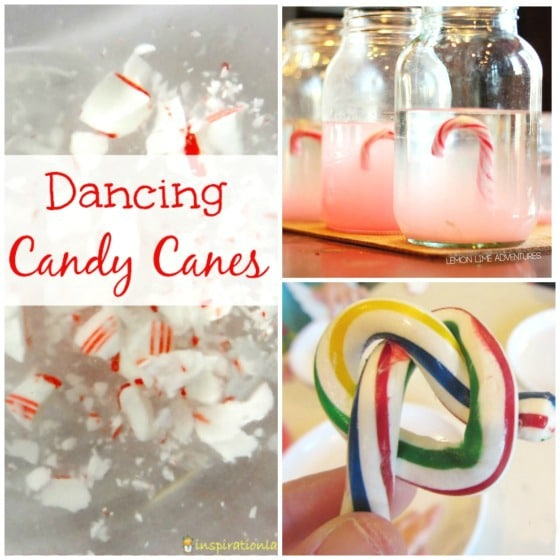 kids science experiments with candy canes