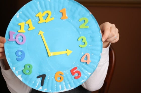 Paper Plate Clock Craft Happy Hooligans