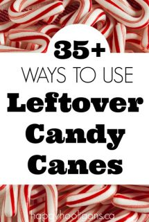 35+ Creative Ways to Use Leftover Candy Canes