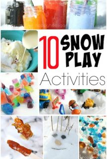 10 Fun and Creative Snow Activities for Kids (for Outside and Inside)