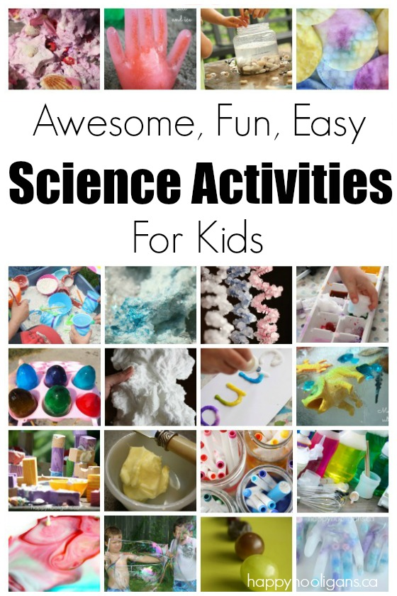 Science Activities for Kids - Happy Hooligans