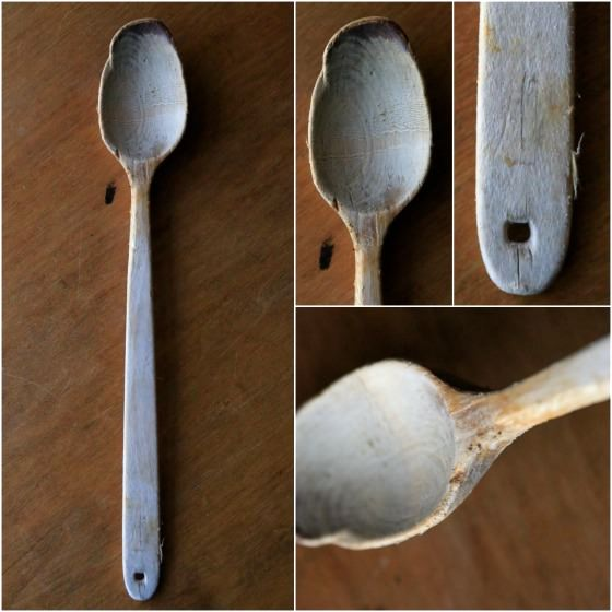 My Nana's old wooden spoon