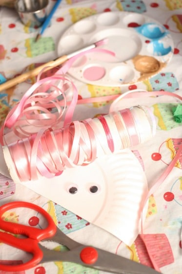 supplies for paper plate crafts & Paper Plate Jellyfish Craft for Preschool - Happy Hooligans