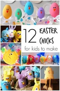 12 Easter chick crafts for kids to make  copy