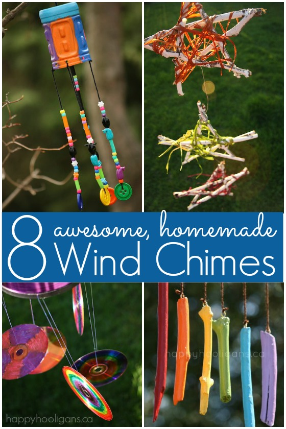 how to make wind chimes out of cds