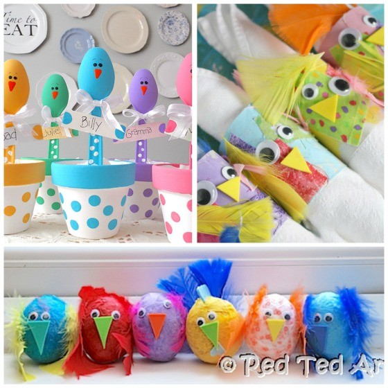 Easter Chick Crafts For Preschoolers To Make