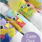 Easter Chick Napkin Rings copy