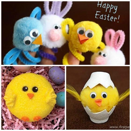 Easter Chicks for Kids to Make
