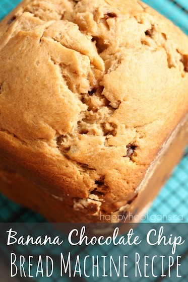 Banana Chocolate Chip Bread Machine Recipe