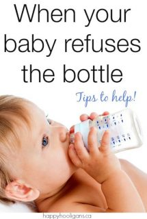 What to Do When Your Baby Won't Take a Bottle – Real Solutions from Real Parents