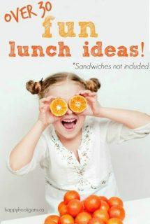 34 school lunch ideas