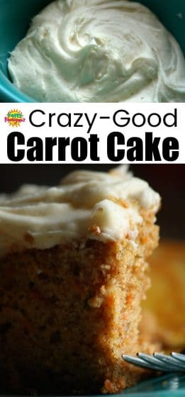Crazy Good Carrot Cake Cream Cheese Icing - HH