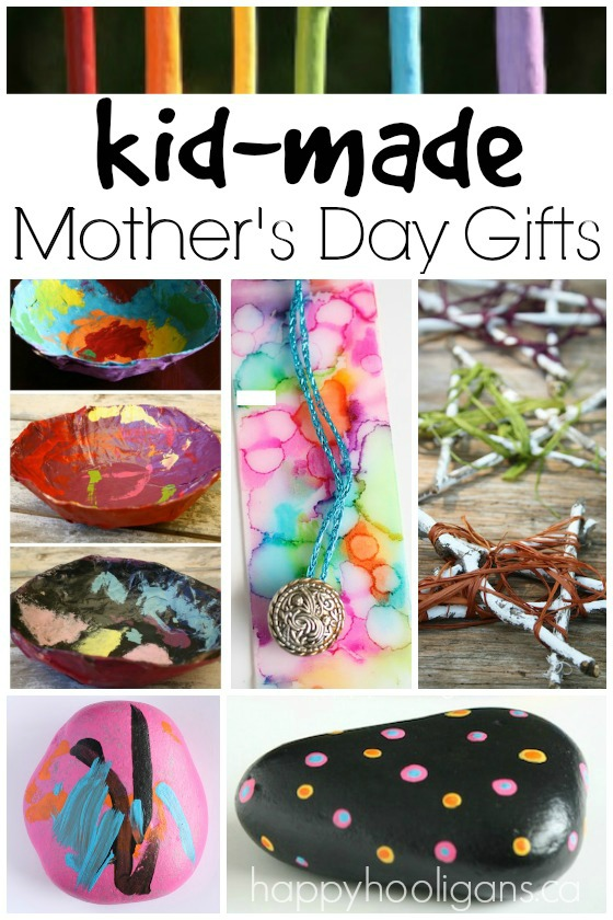 HandMade Mother's Day Gifts for Kids of All Ages to Make
