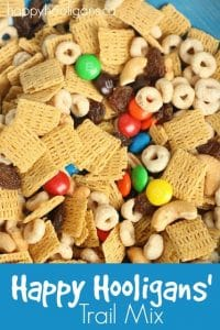 Healthy, kid-friendly trail mix for kids - Happy Hooligans