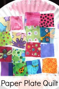 paper plate quilt
